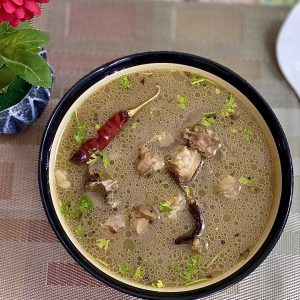 Easy & Spicy Mutton Soup Recipe 2020